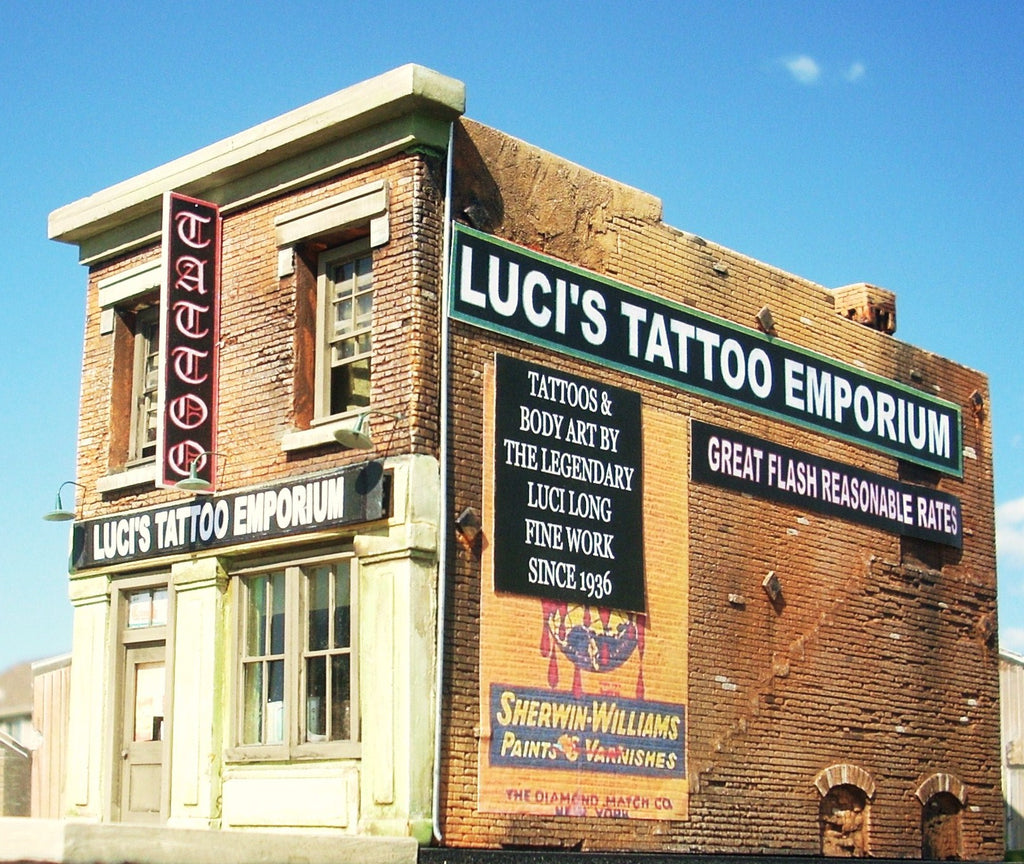 Downtown Deco 2012 N Luci's Tattoo Emporium