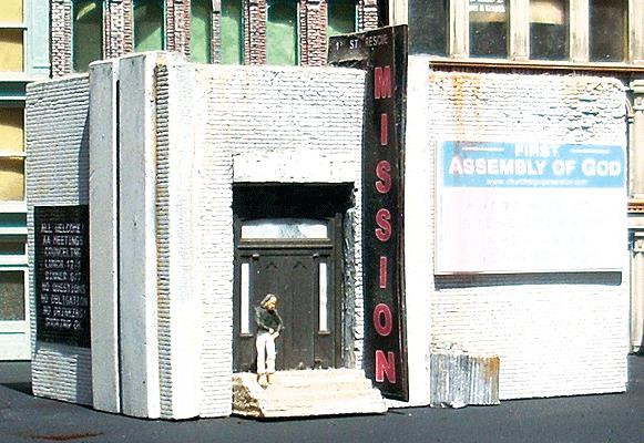 Downtown Deco 2016 N 1st Street Rescue Mission (Plaster Kit)