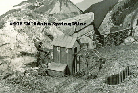 Campbell Scale Models 448 N Idaho Springs Mine