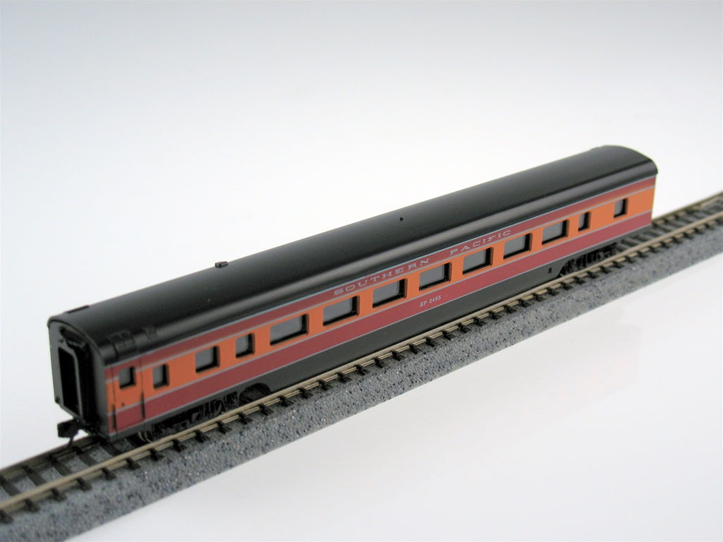 "Con-Cor 140016 N Southern Pacific ""Daylight"" 85' Streamlined Smoothside Coach Car"