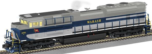 American Flyer 6-42538 S Scale Wabash Norfolk Southern Heritage Non-Powered SD70Ace #1880