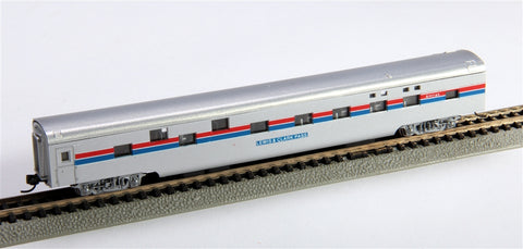 Con-Cor 40079 N Amtrak Phase II 85' Smooth-Side Sleeper Car with Micro-Train® Couplers