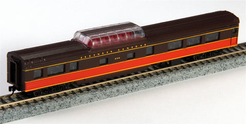 Con-Cor 40249 85' Smooth-Side Mid-Train Dome - Ready to Run w/Micro-Trains(R) Couplers