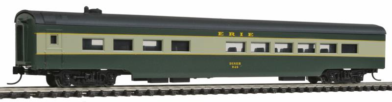 Con-Cor 40298 85' Smooth-Side Diner - Ready to Run w/Micro-Trains(R) Couplers