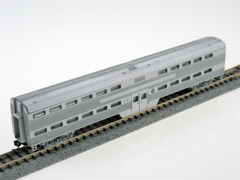 Con-Cor 40557 Pullman-Standard Corrugated Side Bi-Level Commuter Coach