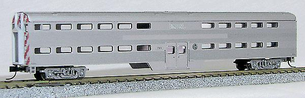 Con-Cor 0001-40572-2 Pullman-Standard Corrugated Side Bi-Level Commuter Cab