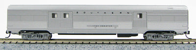 Con-Cor 41329 N Southern Railway Budd 72' Streamlined Corrugated Side Baggage Car