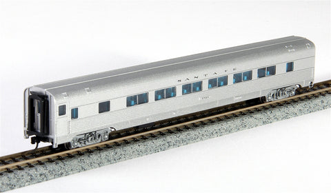 Con-Cor 41476 N Santa Fe Budd 85' Corrugated-Side Twin-Window Coach Car