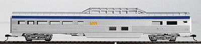 Con-Cor 71111 VIA Rail 85' Streamlined Vista Dome Passenger Car