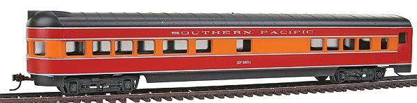 "Con-Cor 962 HO Southern Pacific ""Daylight"" 72' Smooth-Side Observation Car"