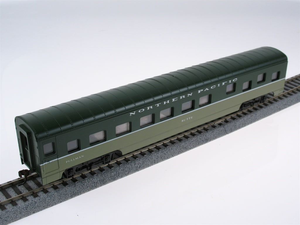 Con-Cor 198019 HO Northern Pacific 72' Smooth-Side Sleeper Car