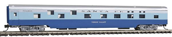 Con-Cor 40102 N Santa Fe 85' Smooth-Side Sleeper Car with Micro-Train® Couplers