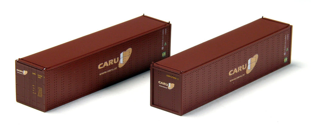 Con-Cor 443011 40' Hi-Cube Container 2-Pack - Ready to Run