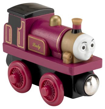 Fisher Price BDG00 Thomas & Friends™ Wooden Railway Lady Engine (Red, Gold)