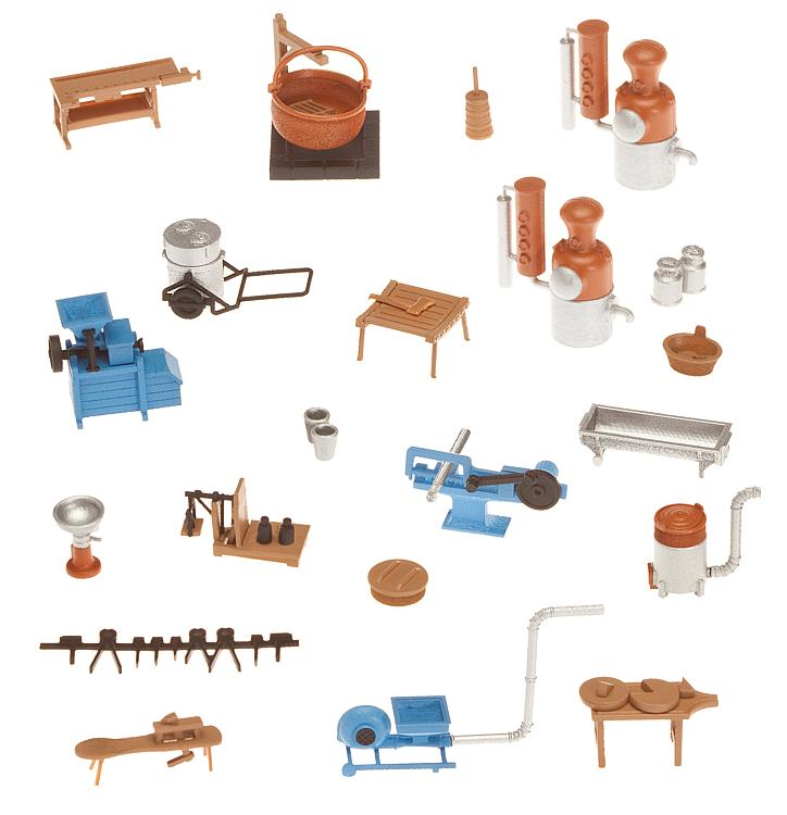 Agricultural, Dairy, Woodworking, Metal Working Details, Accessories