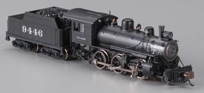 Bachmann 51754 N Santa Fe Alco 2-6-0 Steam Locomotive & Tender w/DCC #9446