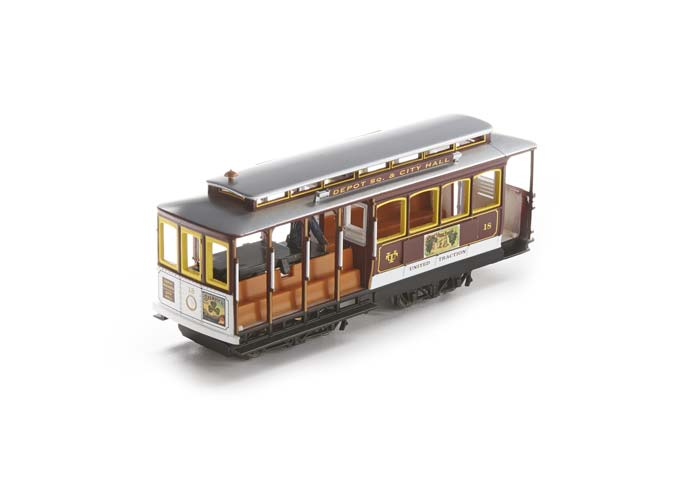 Bachmann 60534 HO Painted & Unlettered Cable Car Electric Locomotive #18