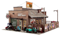 Woodland Scenics PF5193 HO Deuce's Bike Shop Building Kit