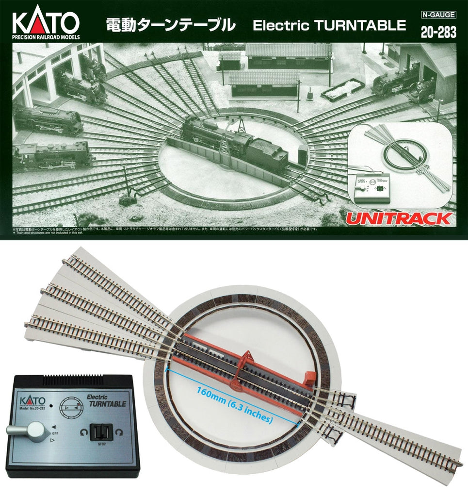 Kato 20-283 N Electric Turntable