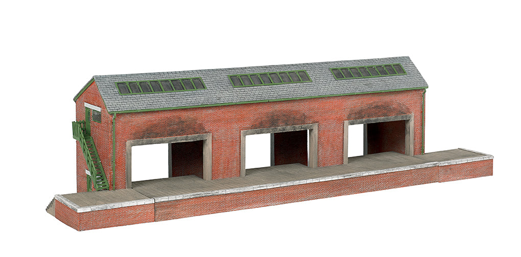 Bachmann 35904 HO Brendam Warehouse Resin Building Kit