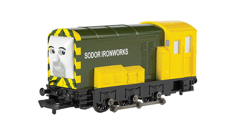 Bachmann 58812 HO Thomas & Friends Iron 'Arry Sodor Ironworks (green, yellow)