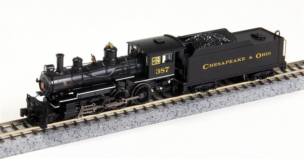 Bachmann 51460 N Chesapeake & Ohio 4-6-0 Steam Locomotive w/DCC #387