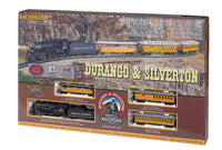 Bachmann 00710 Durango & Silverton HO Gauge Steam with Tender Train Set