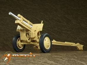 AFV Club 35160 1:35 WWII US 105mm Howitzer M2A1 & M2 Carriage
