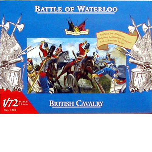 Accurate Figures 7210 1:72 Waterloo: British Cavalry (36)