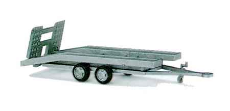 Busch 44903 1:87 HO Trailer f/Single Car