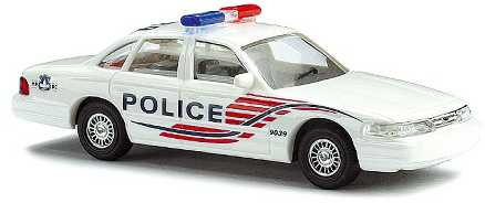 Busch 49011 1:87 HO Ford Crown Victoria Metropolitan Police Department