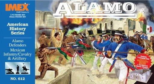 Imex 612 1:72 Alamo Defender Figure Set