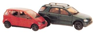 Busch 8310 1:160 N Mercedes-Benz A-Klasse and M-Klasse Set