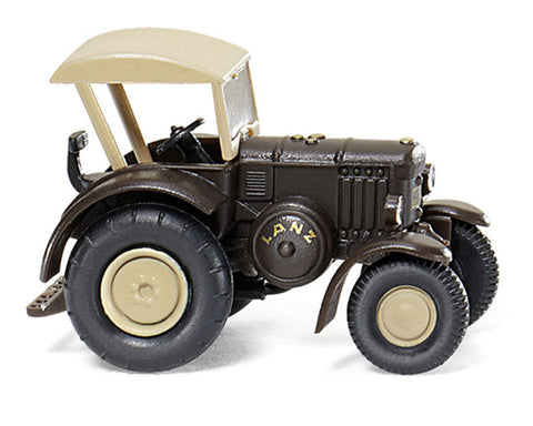 Wiking 095139 1:160 N Lanz Bulldog Tractor with Roof