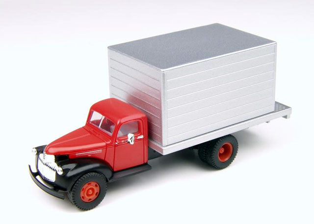 Classic Metal Works 30319 HO Mini Metals 1941-1946 Chevrolet Box Delivery Truck