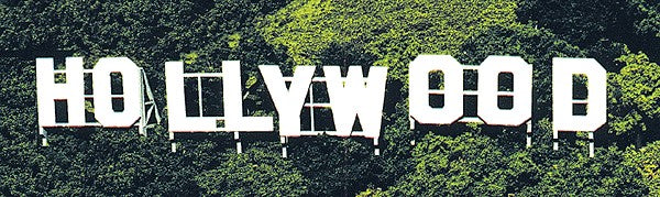 Blair Line 2526 HO, S, O Hollywood Sign Laser-Cut Billboard Kit