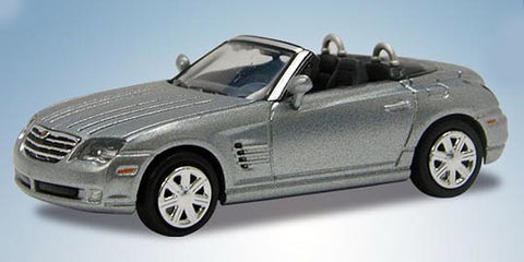 Ricko 38476 HO Chrysler Crossfire Roadster in Sapphire Silver - Top Down