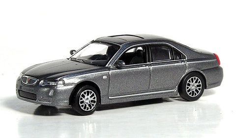 Ricko 38491 HO Metallic Gray  European Automobile - 2007 MG 7 Sedan