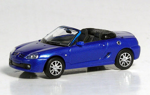 Ricko 38590 HO European Automobile - 2007 MG TF Roadster - Blue