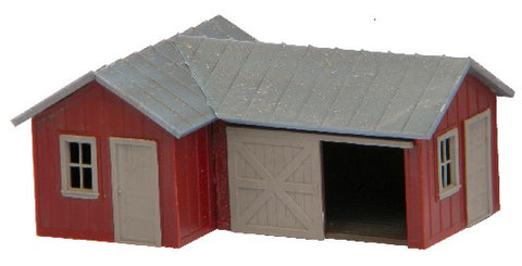 AM Models 125 HO Andy's Repair Shop Building  Kit