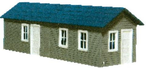 AM Models 126 HO Long Yard Office Kit