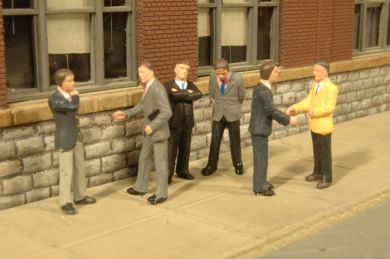 Bachmann 33162 O Businessmen Figures (6)