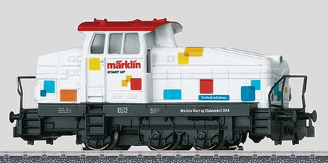 "Marklin 36503 HO Henschel Class DHG 500 ""Start Up"" Diesel Locomotive"