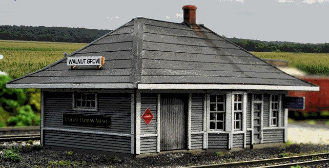 Blair Line 2004 HO Walnut Grove Depot Kit