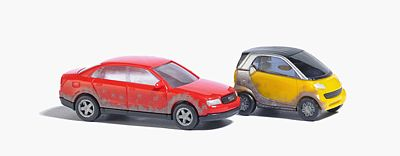 Busch 8355 Smart Car & Audi A4 2/
