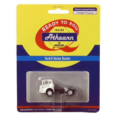 Athearn 2701 HO Ford C Tractor, White