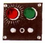 Acme 498 Lights Flush Mount Switch Controller w/Indicator
