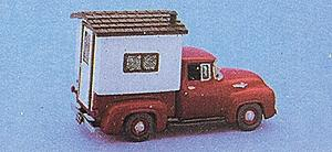 Alloy Forms 2042 1:87 HO 1956 Ford Pickup Truck w/ Camper Top Kit