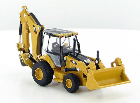 Norscot 55263 HO Caterpillar(R) 450E Backhoe Loader - Assembled