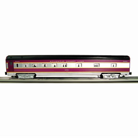 Williams 43101A ACL 72' Steamlined Passenger Cars 6-Pack